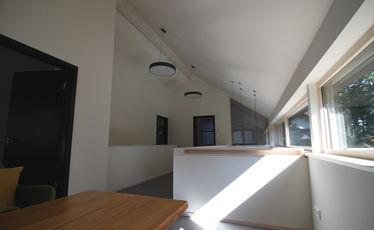 Haus Innenansicht, obere Etage