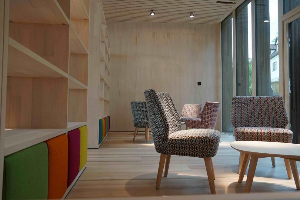Sitzcke mit Sesseln